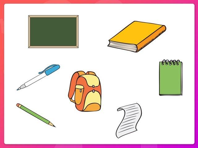 School Vocabulary by Katelyn Tock