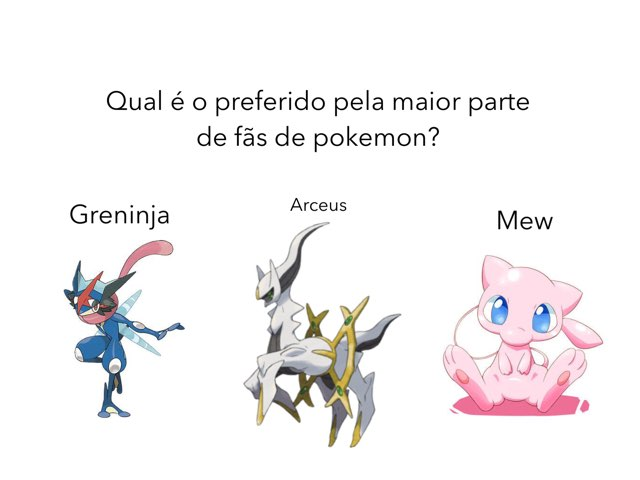 Pokémon Quiz by Joao victor Sarafian