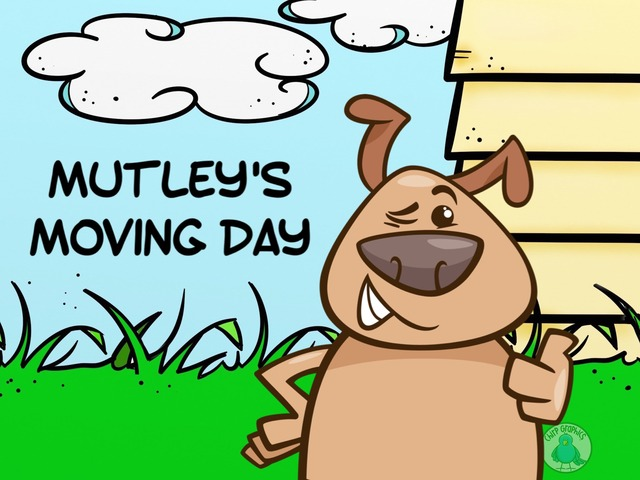 Mutley's Moving Day by Ellen Weber