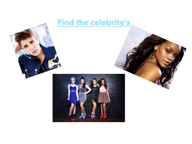 Celebrity's  by Sandford Hill