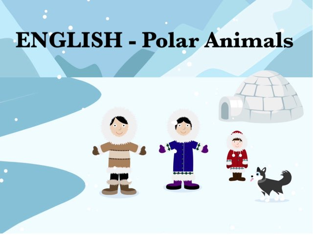 ENGLISH - Polar Animals by Carola Esl