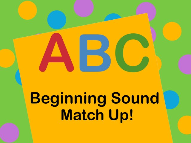 ABC Match Up Demo by Pam DAlessandro