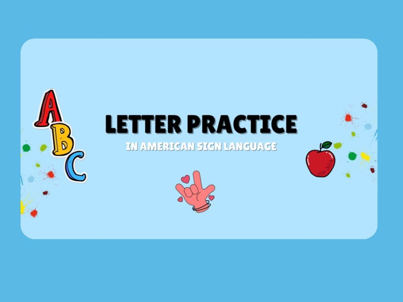 ABC in ASL Picture Match  by Trina Nicole