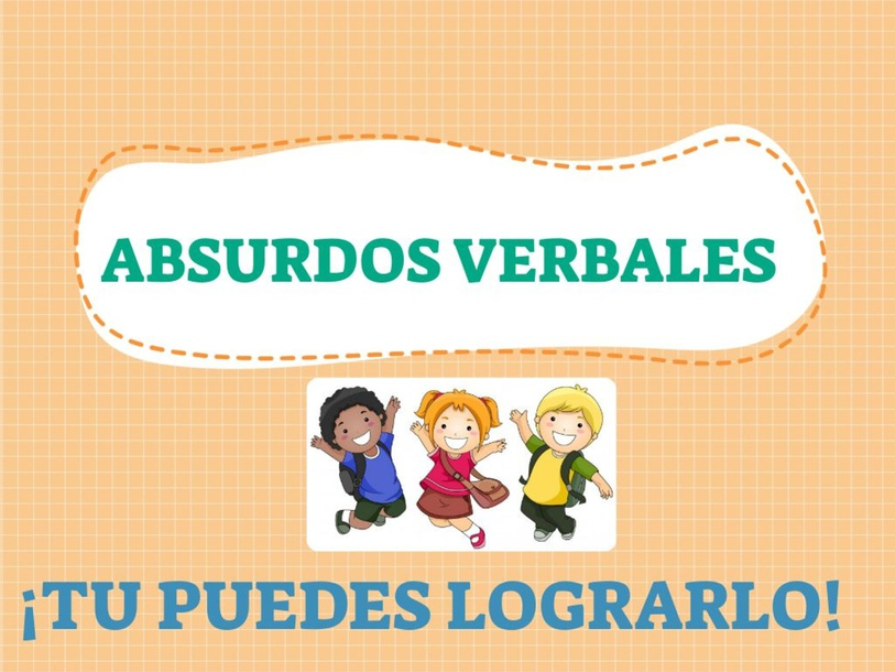 ABSURDOS VERBALES  by JIMENA Rodríguez