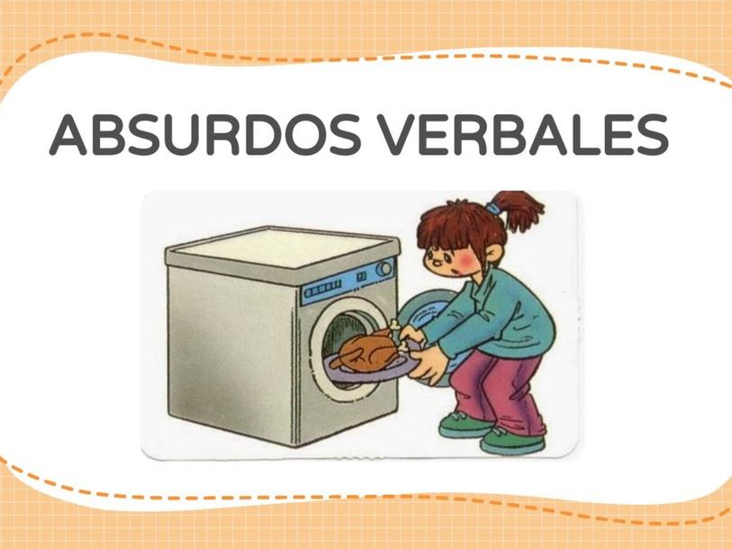 ABSURDOS VERBALES  by Maria Isabel Liu Aguirre