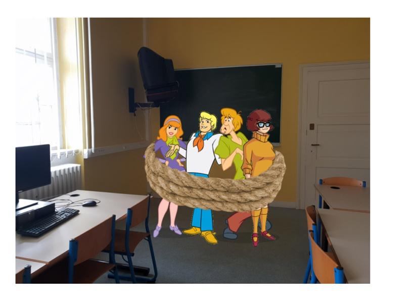 Puzzle Scooby-doo by Espe Metz