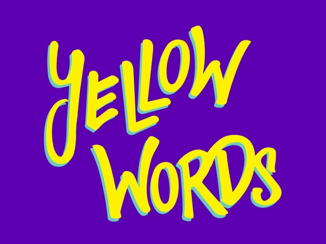 Yellow Words by Helen Smith