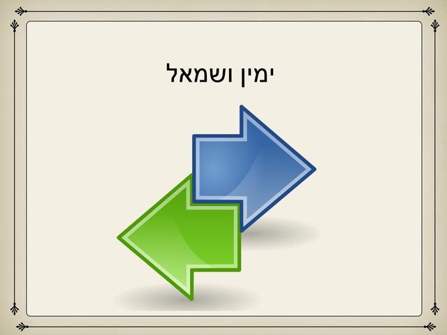שמאל ימין by גיא בן יהודה