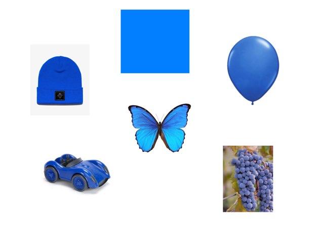 Bleu by Valerie Escalpade