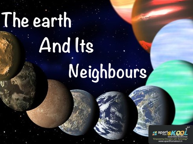 The Earth And Its Neighbours by TinyTap creator
