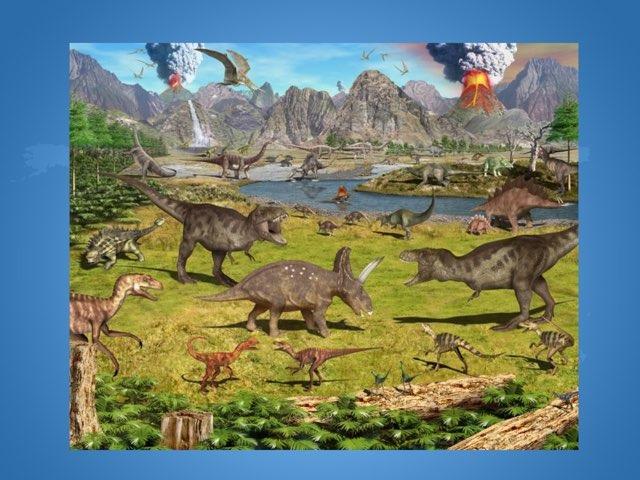 Dinosaurs by Alazne Rodriguez Castrillo