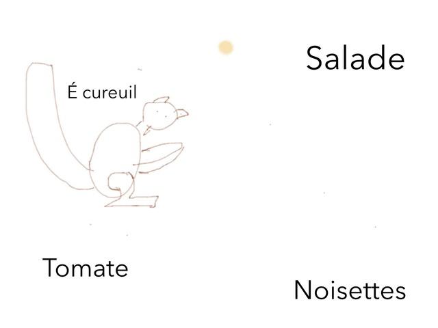 Écureuil by Classe Ecolint