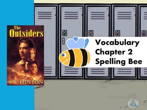 The Outsiders Vocabulary Ch2. by Iliana Navarro-Chiessa