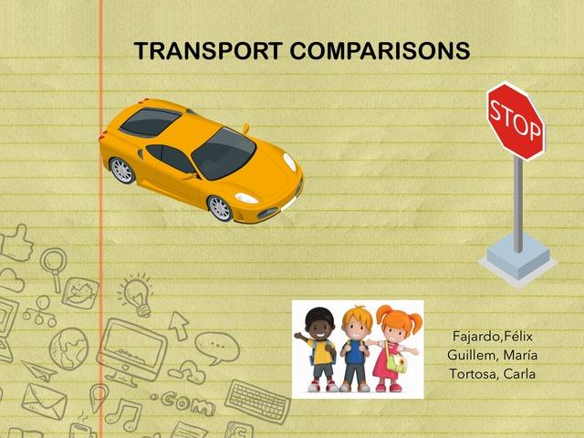 Transport Comparasions by Felix Fajardo calleja