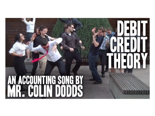 Debits And Credits by Stephanie Colgan