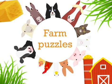 Farm Puzzles by Maria Choudry