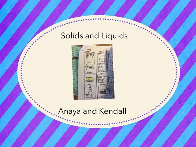 Anaya Kendall by Hulstrom 1st Grade