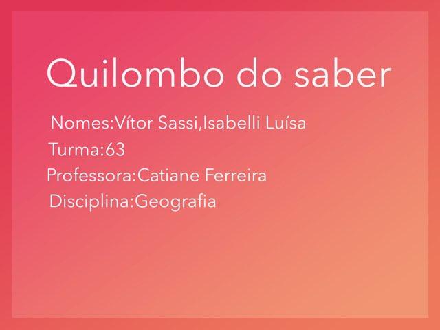 Isabella E Vítor  by Rede Caminho do Saber