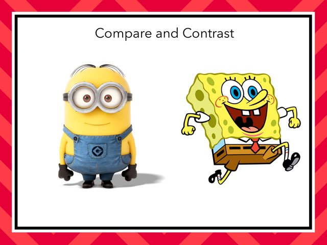 Compare/Contrast by Anna Beth Black