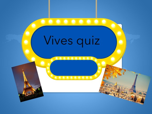 Vives Quiz by TinyTap creator