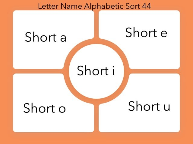 Letter Name Alphabetic Sort 44 by Erin Moody