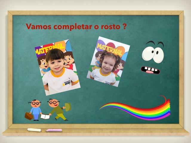 COMPLETE O ROSTO by Leticia Danilo