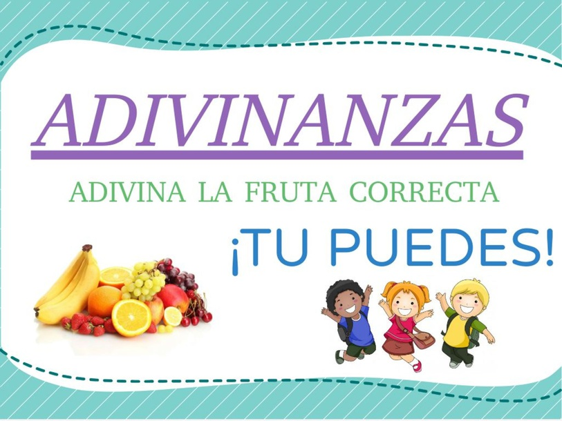 ADIVINANZAS  by JIMENA Rodríguez