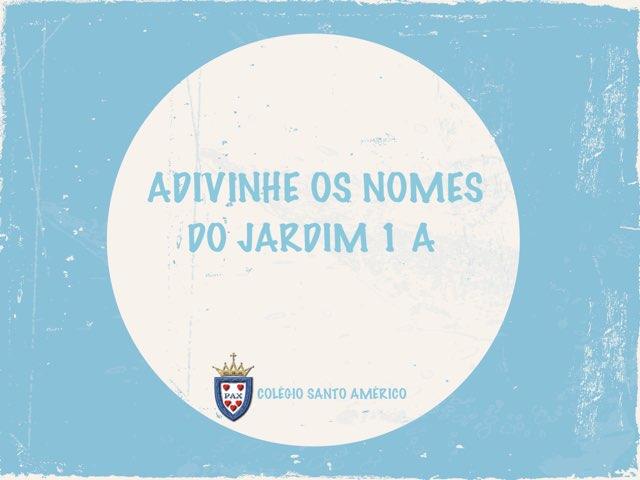 ADIVINHE OS NOMES DO JARDIM 1 A by Gabriella Zahr
