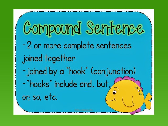 Compound Sentences (so, but, and) by Carol Smith