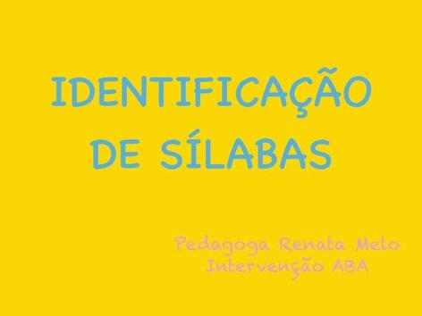 Id Sílabas  by Renata Melo