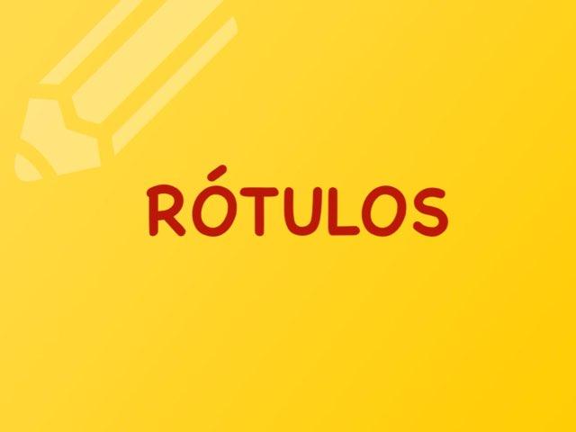 JOGO DOS RÓTULOS  by Educação Infantil Cfc