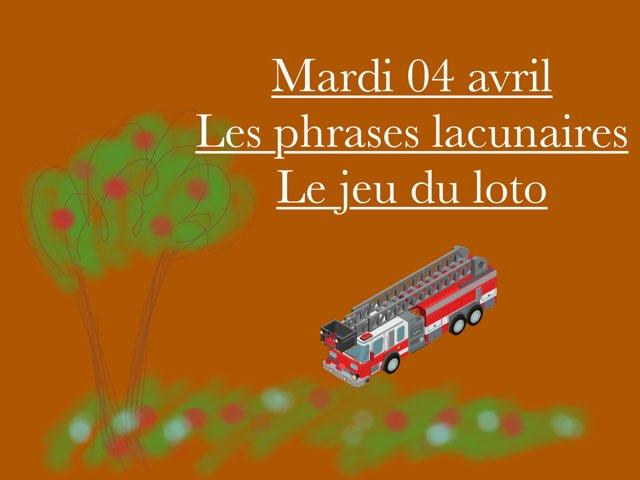 L - Mar04 - Phrases Et Jeu Du Loto  by Caroline Gozdek