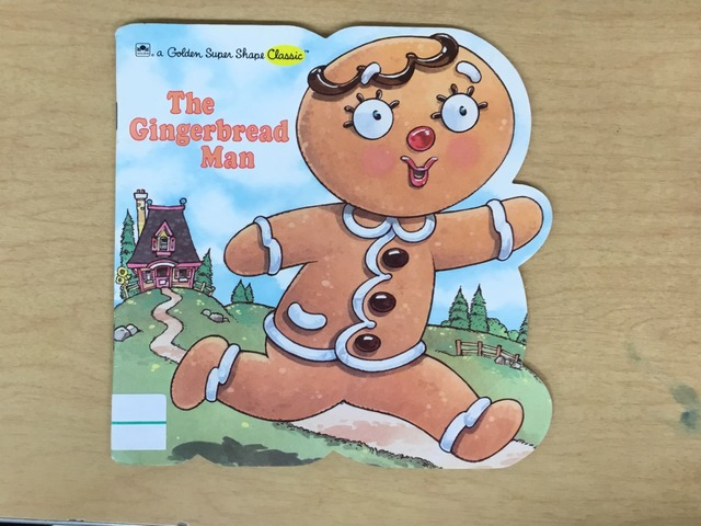 The Gingerbread Man by Evie Dencklau