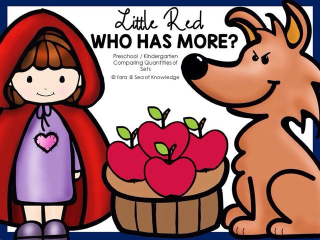 Little Red Riding Hood - Who Has More?  by Yara Habanbou
