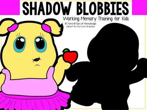 Shadow Blobbies - Working Memory Training  by Yara Habanbou