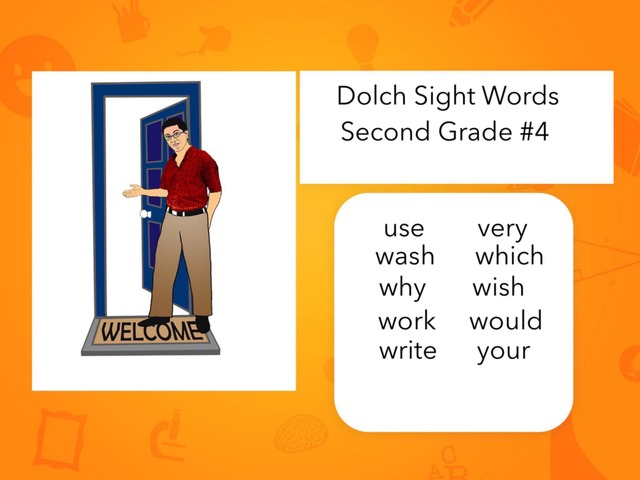 Dolch Sight Words: Second Grade #4 by Carol Smith