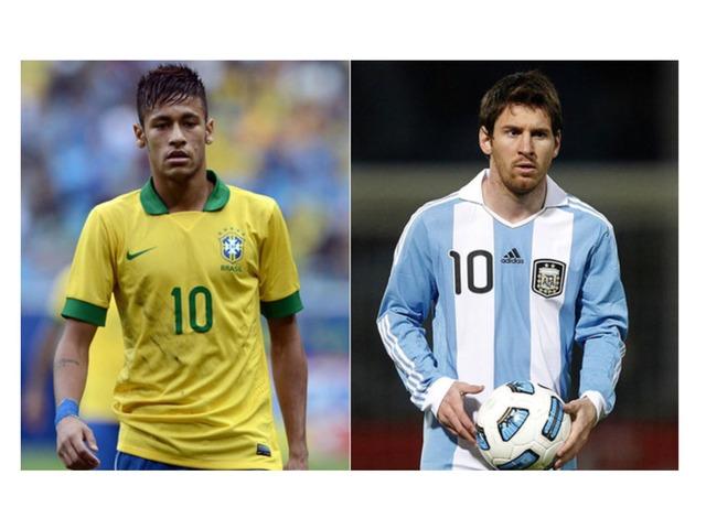 Neymar VS Messsi Le Choc !!!! by Tid