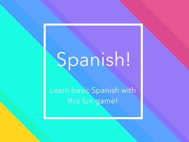 Spanish! by John Ferrero