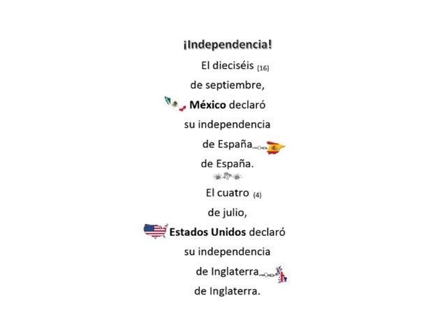 Independencia by Allison Shuda
