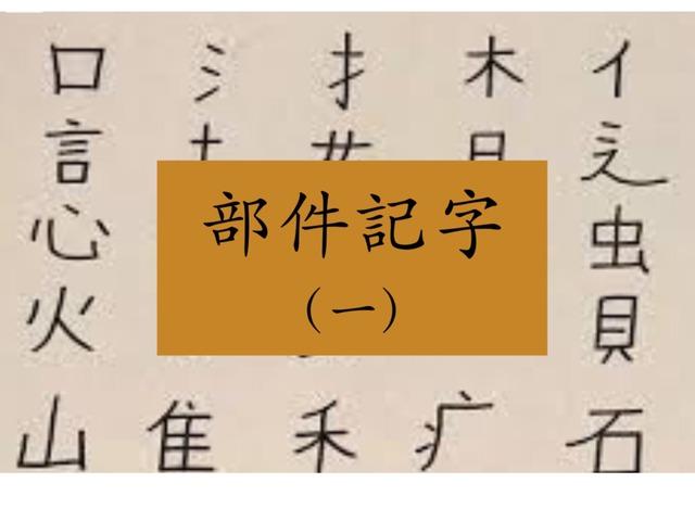 部件識字(一)也 圭 包 馬 by Primary Year 2 Admin