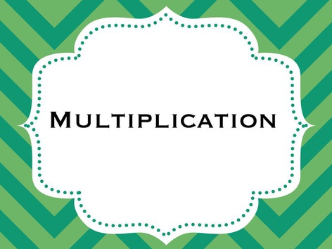 Multiplication by Michelle Cabalo