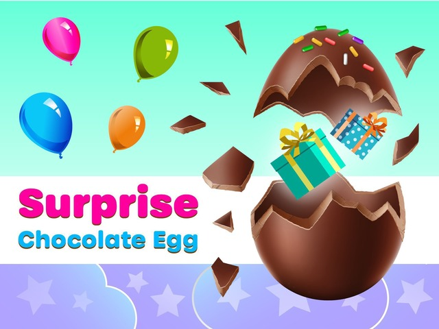 Chocolate Egg Surprise by Tiny Tap