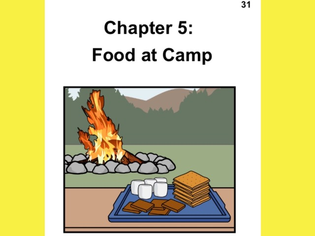 Unique Summer Unit Chapter 5: Food at Camp  by Tanya Folmsbee