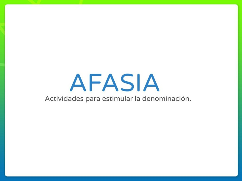 AFASIA by daniela barrientos