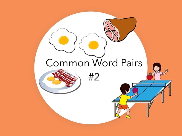 Word Pairs: Common #2 by Carol Smith