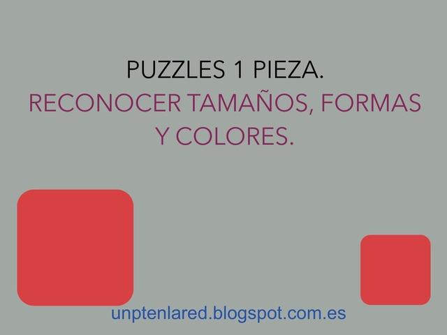 Reconocer Tamaños, Formas Y Colores Con Puzzles 1 Pieza. by Jose Sanchez Ureña
