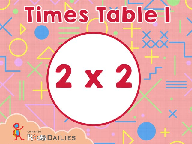 Times Table I  by Kids Dailies