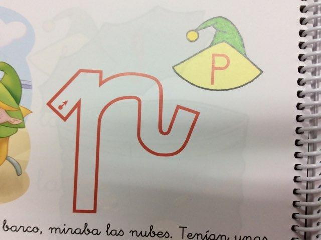 La letra P by Material Pictos