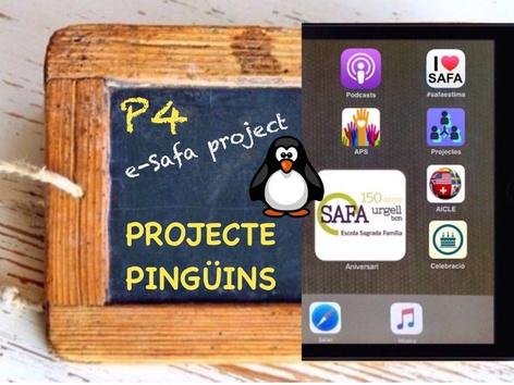 SAFA P4 - Projecte PINGÜINS by Sagrada Familia c/urgell