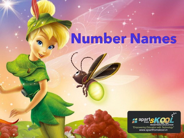 1-30 Number Names by TinyTap creator